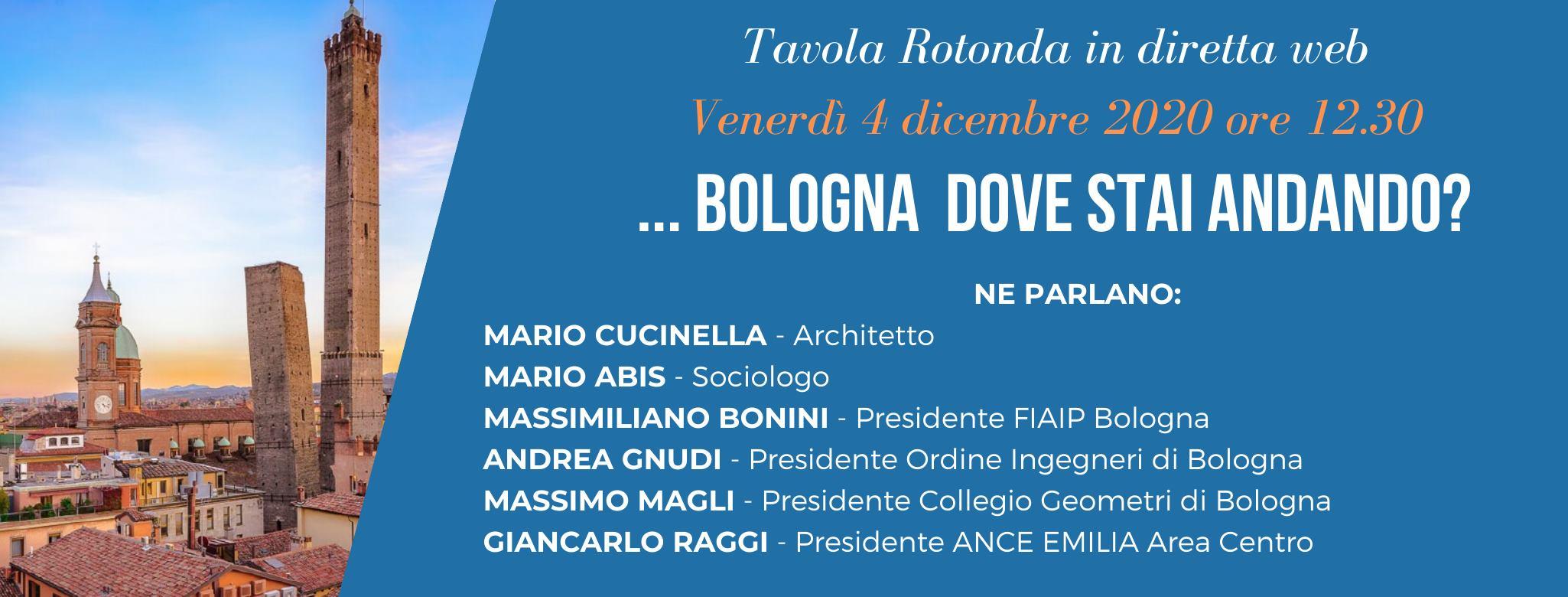 Read more about the article Tavola Rotonda…BOLOGNA dove stai andando?