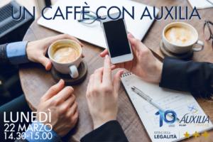 Read more about the article BOLOGNA – 22/03/2021 | Un Caffè con Auxilia