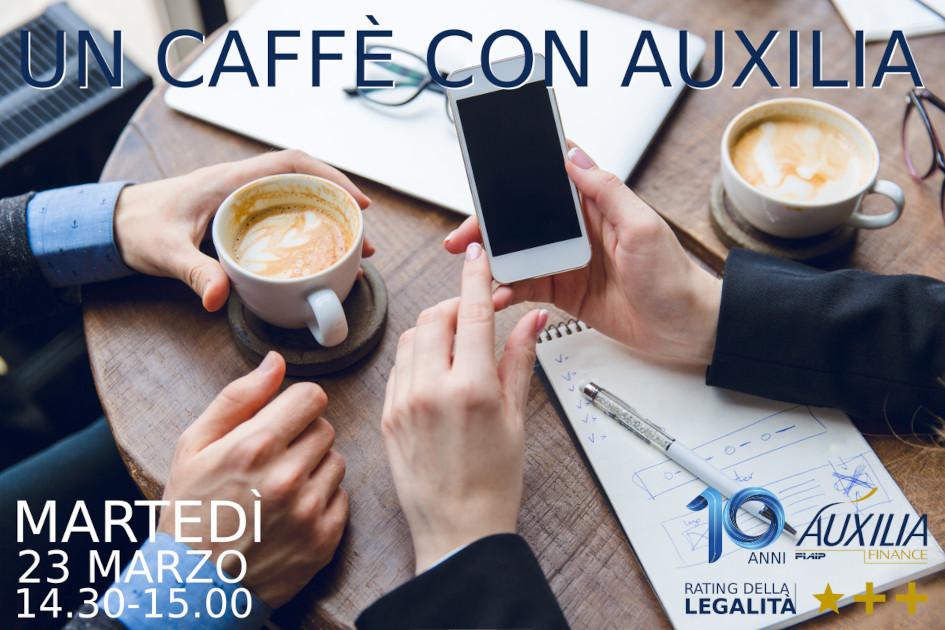 Read more about the article PIACENZA – 23/03/2021 | Un Caffè con Auxilia