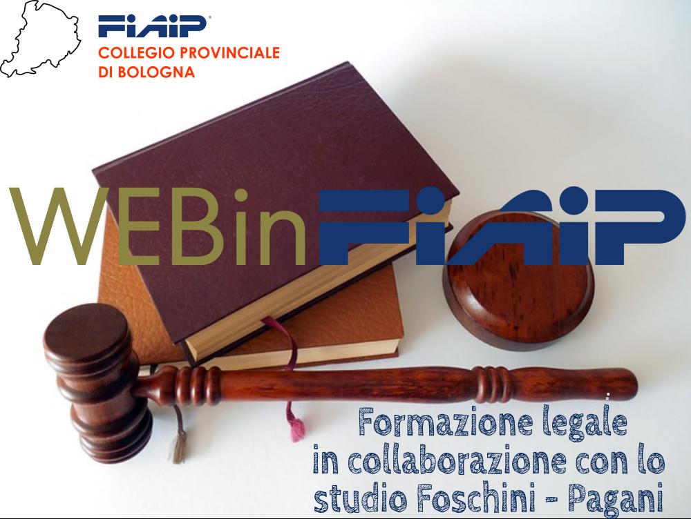 Read more about the article BOLOGNA   Formazione legale con lo studio legale Foschini&Pagani