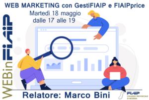 Read more about the article WEBinFIAIP Modena – 18/05/2021 | Web Marketing con GestiFIAIP e FIAIPprice