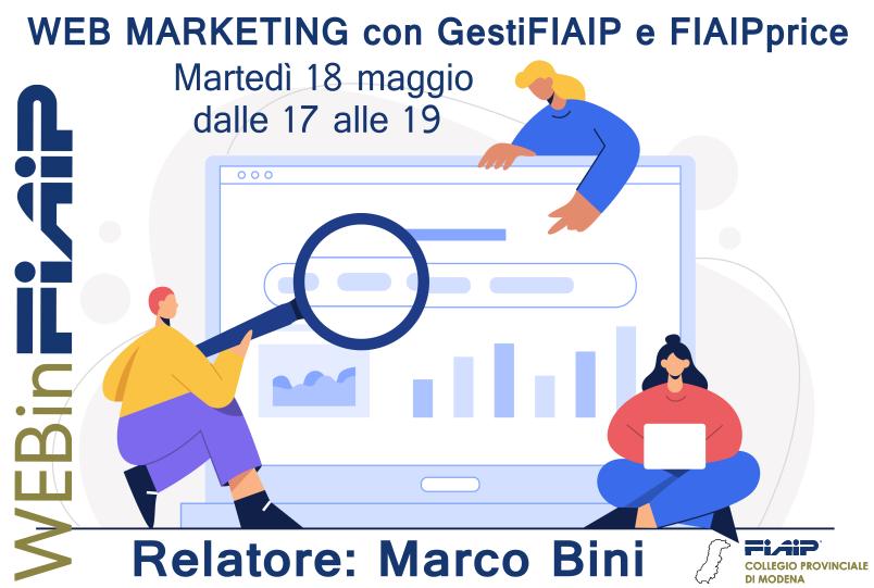 You are currently viewing WEBinFIAIP Modena – 18/05/2021 | Web Marketing con GestiFIAIP e FIAIPprice