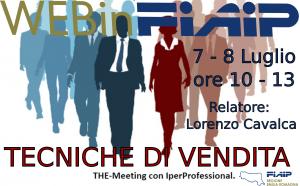Read more about the article WEBinFIAIP Emilia Romagna – 7-8/07/2021 | Tecniche di vendita